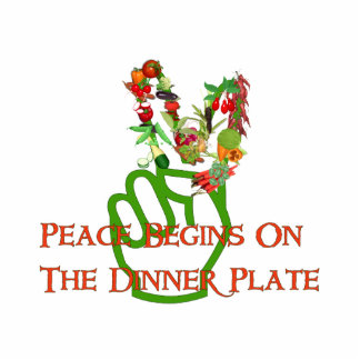 Eating For Peace Cutout