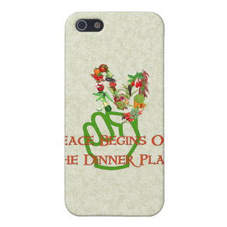 Eating For Peace iPhone 5 Cover