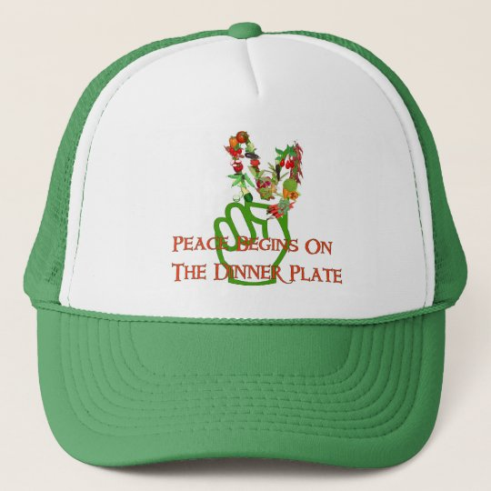 Eating For Peace Trucker Hat