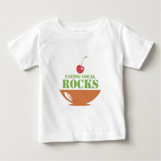 Eating Local Rocks Baby T-Shirt