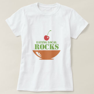 Eating Local Rocks T-Shirt