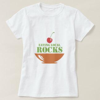 Eating Local Rocks Tee Shirt