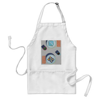 Eating Lunch Together Adult Apron