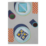 Eating Lunch Together Greeting Card