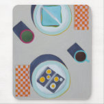 Eating Lunch Together Mouse Pad