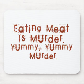 Eating Meat is Murder Mouse Pad