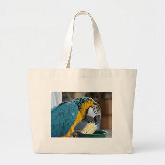 Eating my Corn Canvas Bag