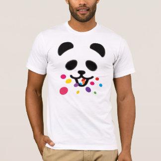 Eating Panda Rainbow T-Shirt