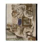 Eating Soup at the Barracks, from 'L'Estampe Moder iPad Folio Cover