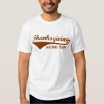 Eating Team, Funny Thanksgiving T-Shirts