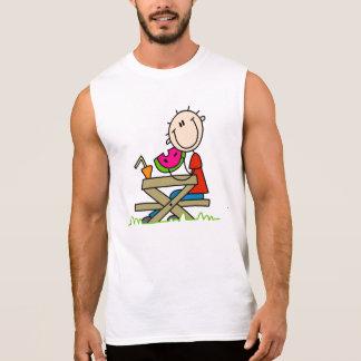 Eating Watermelon Sleeveless T-shirt