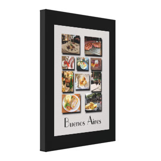 Eating Well in Buenos Aires Canvas Print