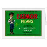 Eatmor Pear Crate LabelYakima, WA