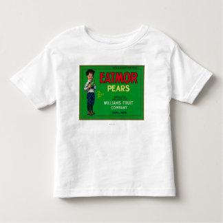 Eatmor Pear Crate LabelYakima, WA Toddler T-shirt