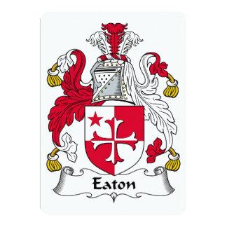 Eaton Family Crest Card