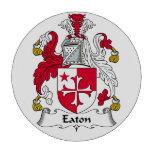 Eaton Family Crest Poker Chips Set
