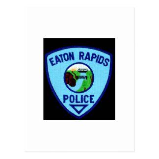 EATON RAPIDS POLICE DEPT. POSTCARD