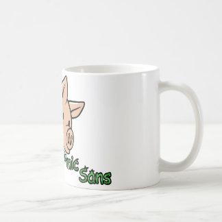 Eats Comics Sans, Poops Helvetica Coffee Mug