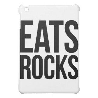 Eats Rocks iPad Mini Cover