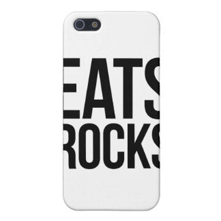 Eats Rocks Covers For iPhone 5