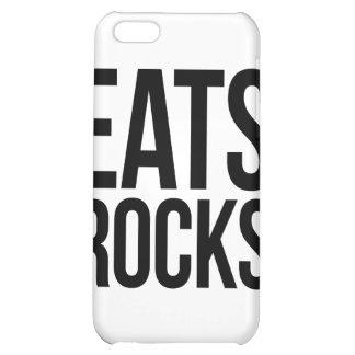 Eats Rocks iPhone 5C Covers