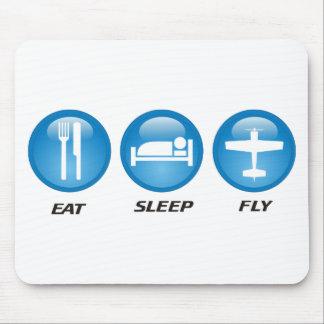 eatsleepfly mouse pad