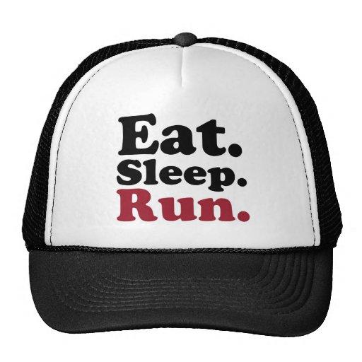 eatsleeprun2 trucker hat