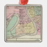 Eau Claire and Medford Christmas Tree Ornaments