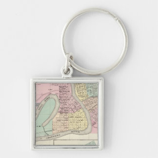 Eau Claire and Medford Keychains
