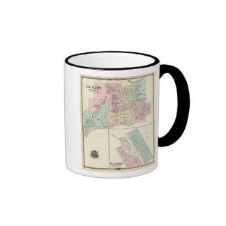Eau Claire and Medford Ringer Mug