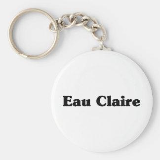 Eau Claire Classic t shirts Keychain
