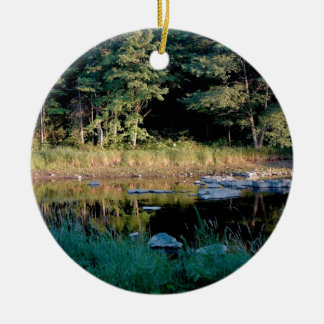 Eau Claire Dells Ceramic Ornament