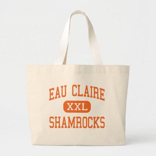 Eau Claire - Shamrocks - High - Columbia Jumbo Tote Bag