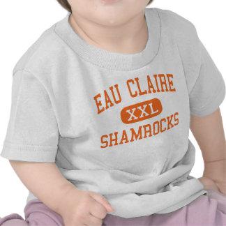 Eau Claire - Shamrocks - High - Columbia T-shirts