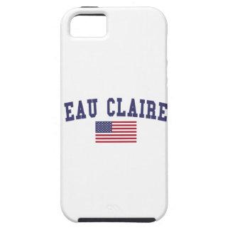 Eau Claire US Flag iPhone SE/5/5s Case