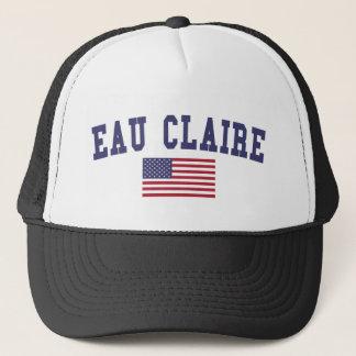Eau Claire US Flag Trucker Hat