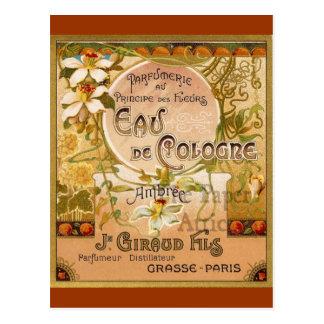 Eau De Cologne Ambree Postcard