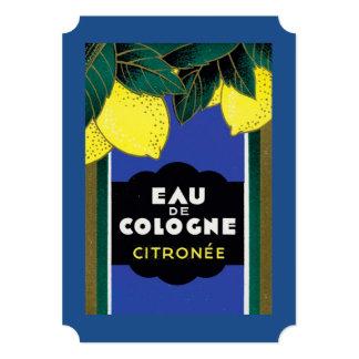 Eau de Cologne Citronee 5x7 Paper Invitation Card