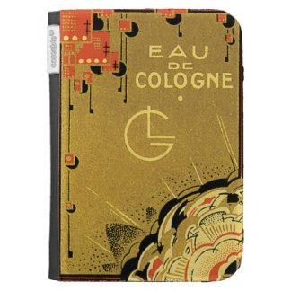 Eau De Cologne Gold Kindle Covers