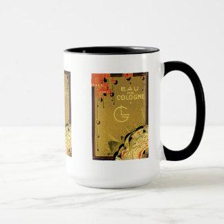 Eau De Cologne Gold Mug