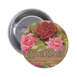 Eau de Roses Button