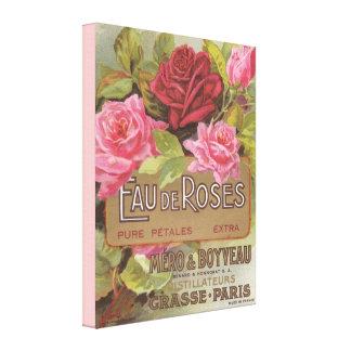 Eau de Roses Canvas Print