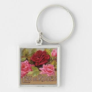 Eau De Roses French Scent Keychains