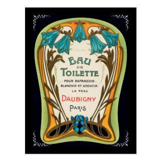 Eau de Toilette Doubigny París Postal