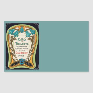 Eau de Toilette Doubigny Paris Rectangular Sticker