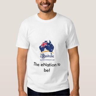 ¡eAustralia, el eNation a ser! Camiseta Poleras