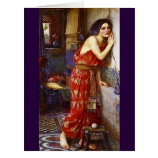 Eavesdropping 1909 card