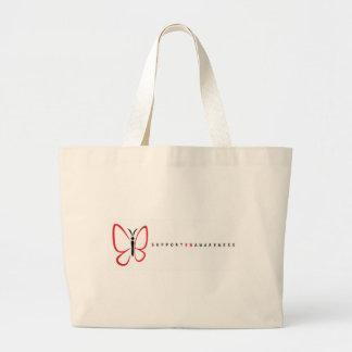 eb logo white2 large tote bag