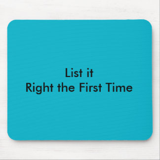 Ebay Online seller Motivation Motto Mouse Pad