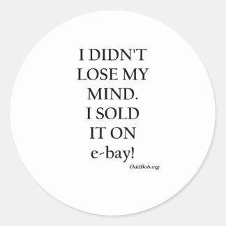 eBay Etiquetas Redondas